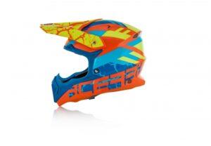 Acerbis Impact 3.0 - orange/blár