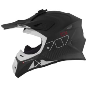 CKX TX707 carbon hjálmur - svartur