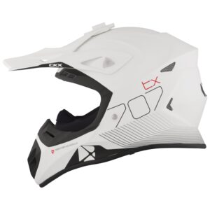 CXK TX707 carbon hjálmur - hvítur