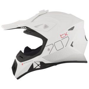 CKX TX707 carbon hjálmur - hvítur