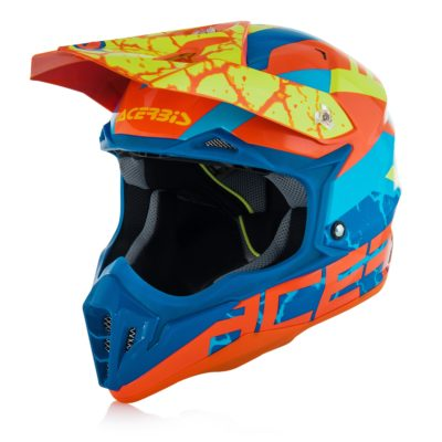 Acerbis Impact 3.0 - orange/blár