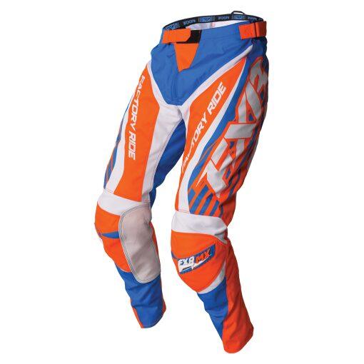 FXR Clutch buxur - bláar/orange