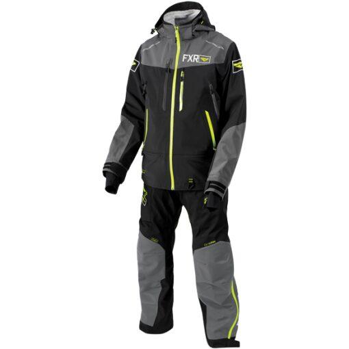 FXR Monosuit - svartur/gulur