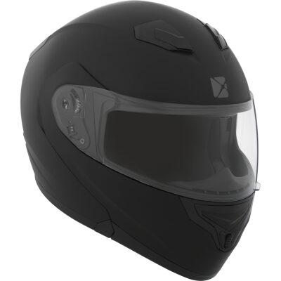 CKX Solid RSV kjálkahjálmur - svartmattur