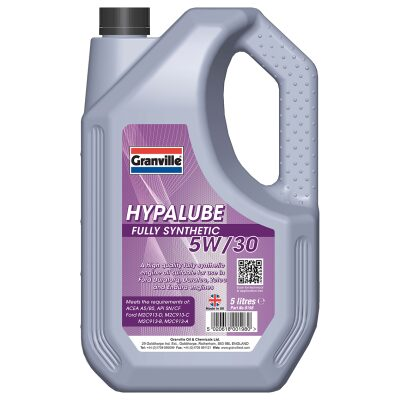 5W/30 Olía Hypalube Fully Synthetic - 5 l.