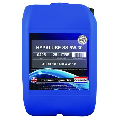 5W/30 Olía Hypalube Semi Synthetic - 25 l.