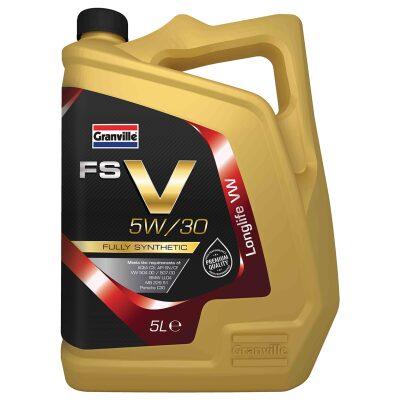5W/30 Olía V Fully Synthetic - 5 l.