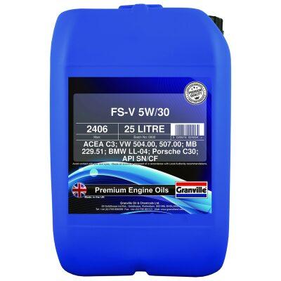 5W/30 Olía V Fully Synthetic - 25 l.