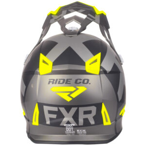 FXR Boost Clutch hjálmur - svartur/gulur