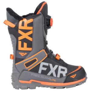 FXR Helium Lite skór - svartir/orange