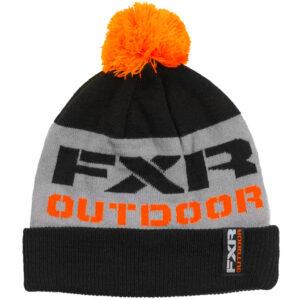 FXR húfa - svört/orange