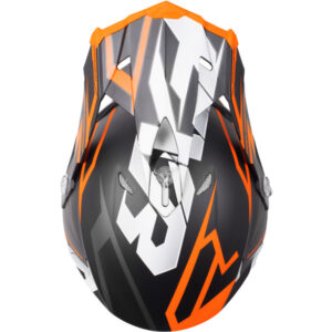 FXR Blade 2.0 hjálmur - svartur/orange