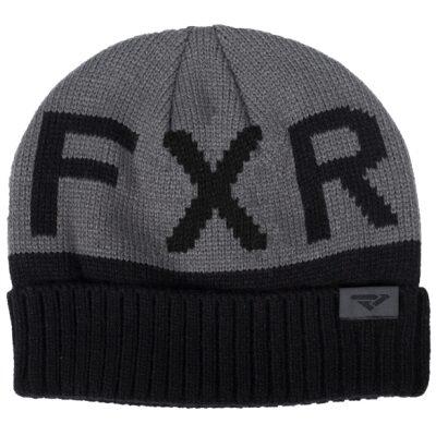 FXR húfa - svört/grá